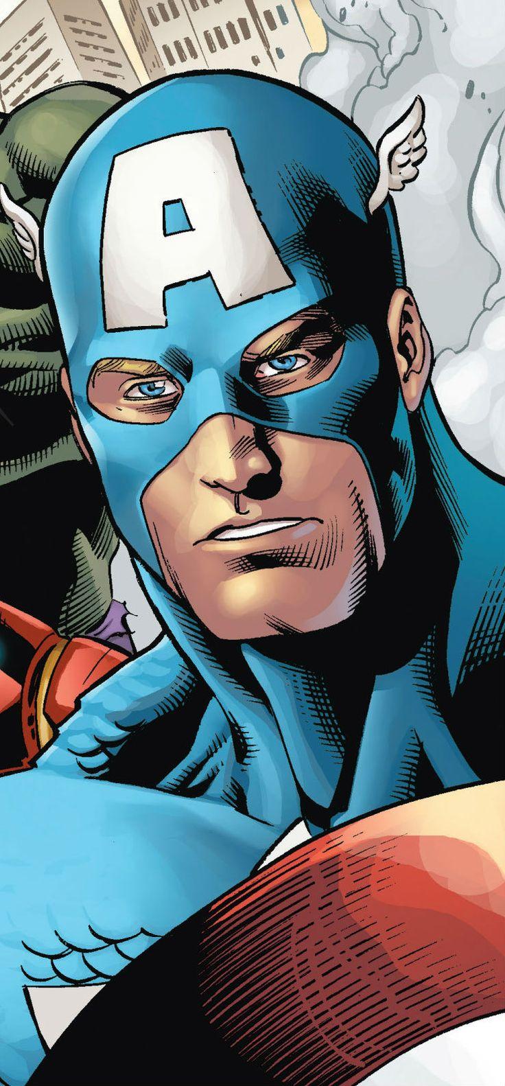 Captain America by Scott Hanna