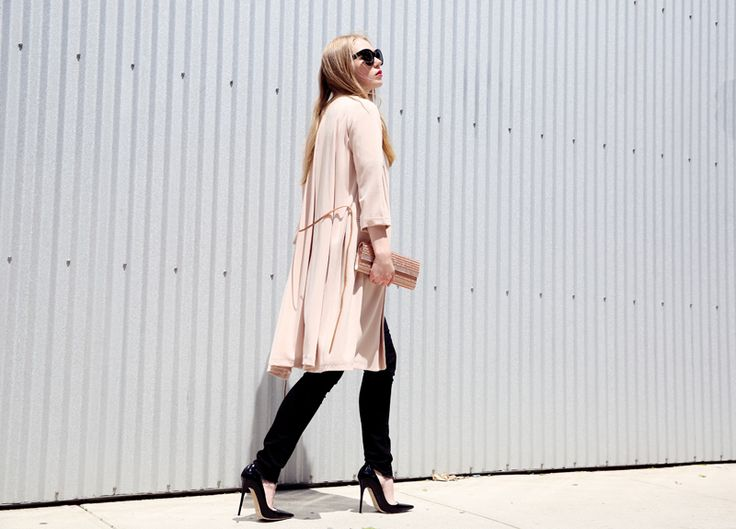 classic pumps with classic outfit