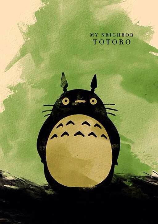 Hayao Miyazaki Minimalist Poster Series- Created byMoonPoster Series available for sale onEtsy.