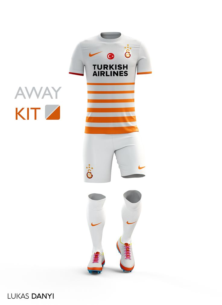 I designed soccer/football kits for Galatasaray SK for the upcoming season 16/17.