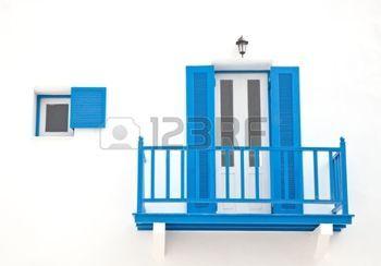 Porta e telaio finestra in stile moderno photo