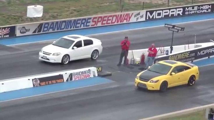 Драг Рейсинг Шевроле Кобальт Drag Race Chevrolet Cobalt SS vs Cobalt SS