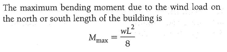 max bending moment