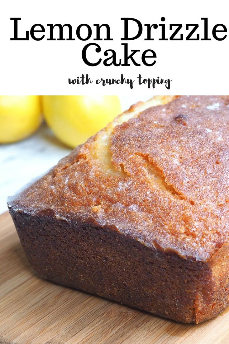 When life gives you lemons, make cake! This cake is light, lemony and that crunchy drizzle? Well, it's just the tops!