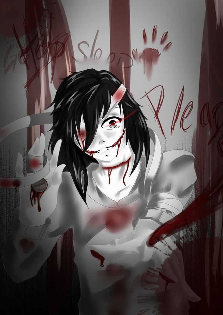 redraw jeff the killer - photo #32