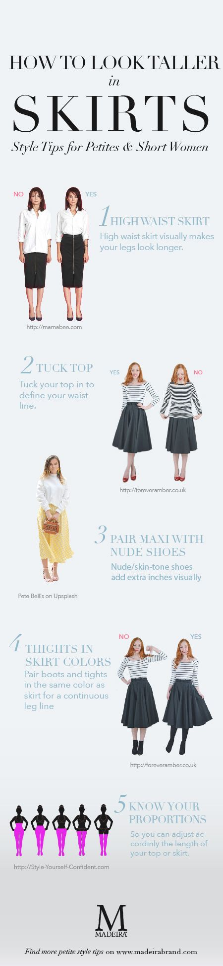Skirt is one of the most versatile wardrobe. Whether your favorite silhouette is A-line, pencil or full, midi, or maxi, try these style tips to dress like a pro petite fashion blogger.