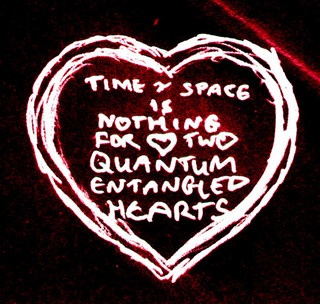 Quantum Entangled Hearts by Mark Andrew Webber, via Flickr