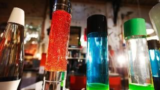 British inventor Edward Craven-Walker's lava lamps celebrate 50 funky years