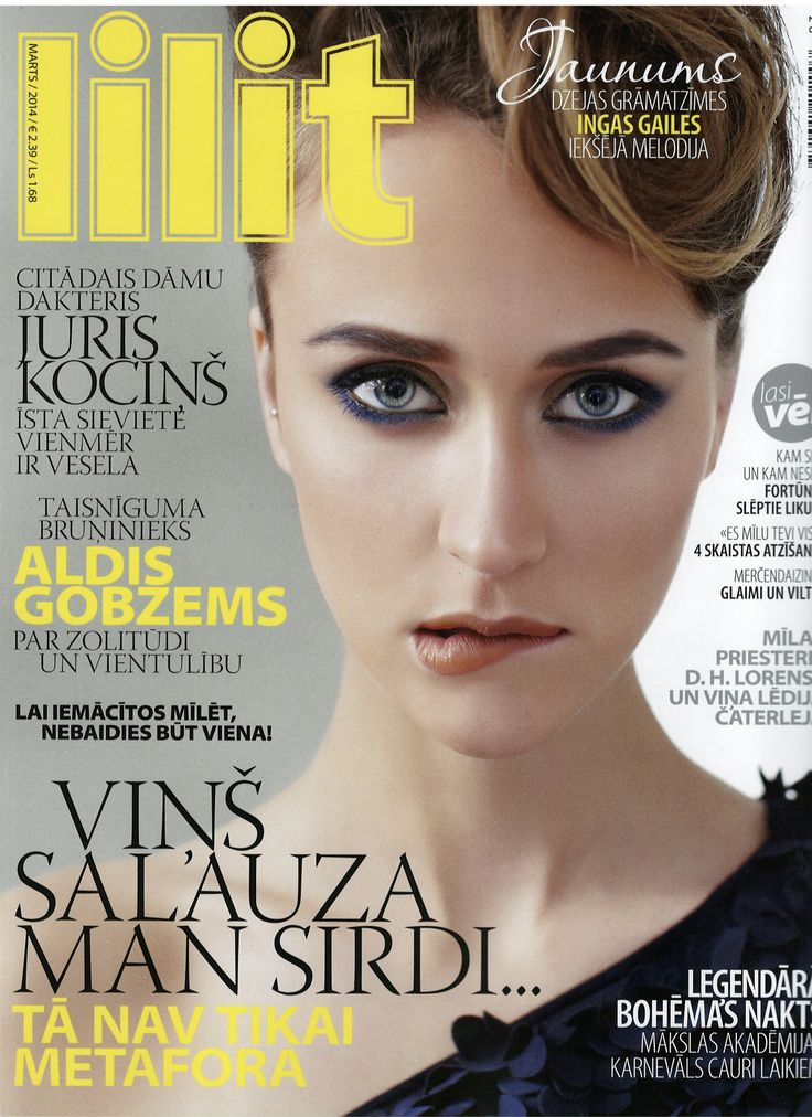 Lilit Magazine Latvia cover, March 2014