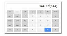 Usar Nueva Calculadora Científica de Google