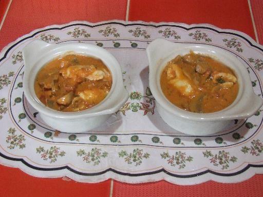 Recette de Cassolettes de crabe