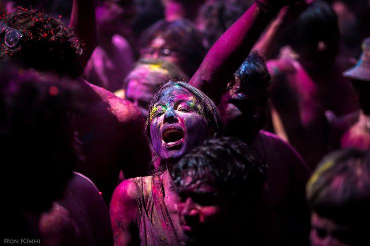 Holi Festival Girl by Ron Kimhi on 500px