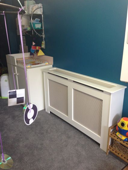 We Installed This Storage Heater Cabinet Finished In Satin White Harrogate At Roseville Day Nursery