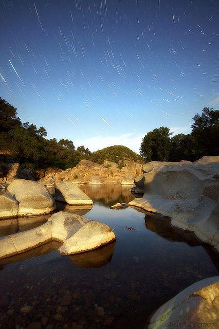 Anduze Startrails. Anduze, Languedoc-Roussillon, France | by Le***Refs *PHOTOGRAPHIE*