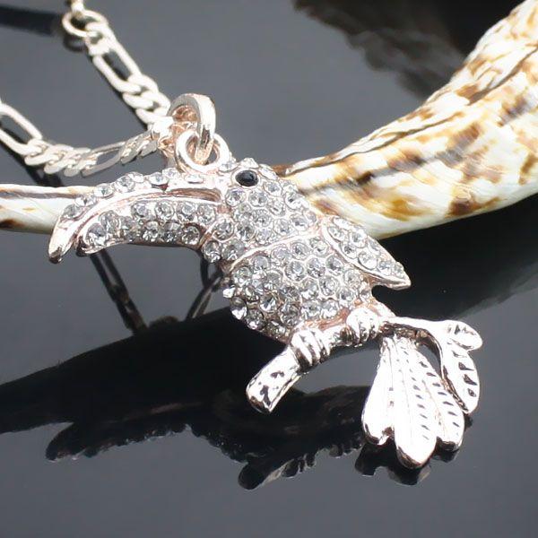 Or collier de diamants pics