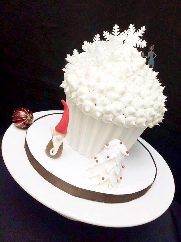 Christmas Cupcake Cake Ideas