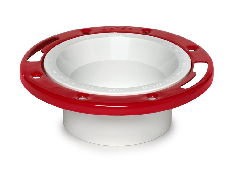 "Oatey 43513 PVC Flange with Metal Ring, 3"" Or 4"""
