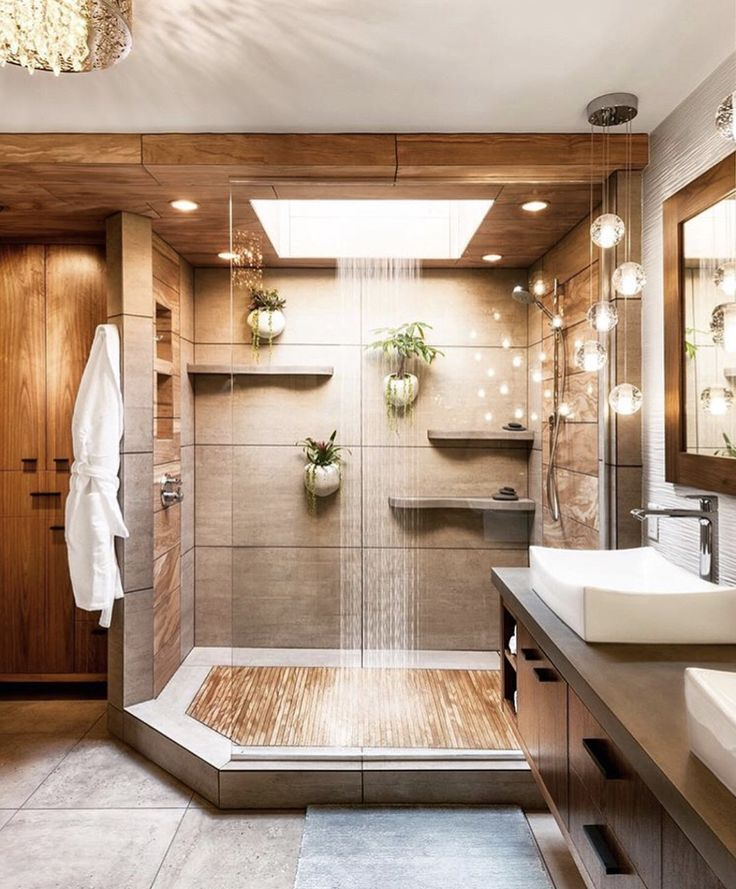 Keep Intouch With Nature In This Shower #lux #bath #shower
