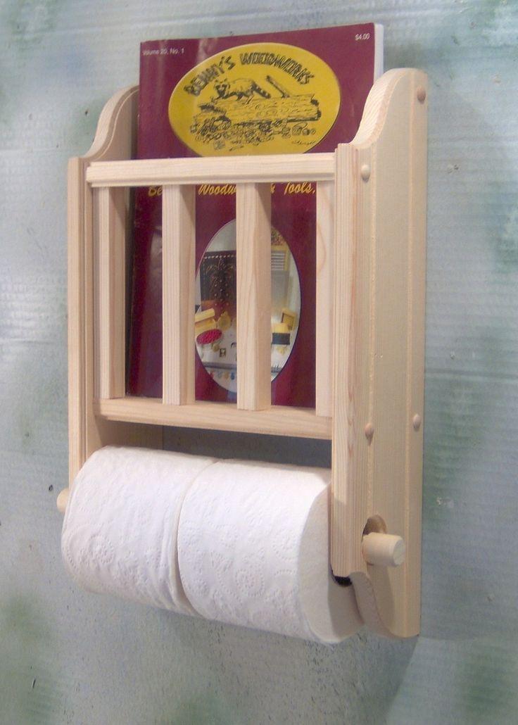 Tissue And Magazine Holder For Half Bath Etsy Decor In