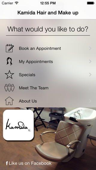 Hair & Makeup room Kamida app
