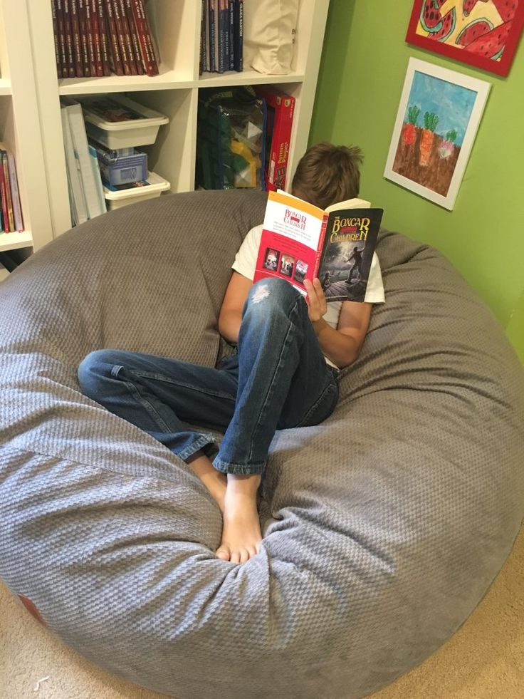 A Beanbag Your Family Will LOVE! Big bean bag chairs