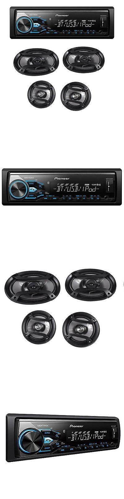 Car Audio In-Dash Units: Pioneer Mxt-X3869bt Bluetooth In-Dash Digital Media Receiver System W Speakers -> BUY IT NOW ONLY: $93.95 on eBay!
