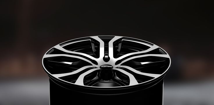 Dynamik Black Diamond Alloy wheel / Cerchio in lega Dynamik Nero Diamantato Background