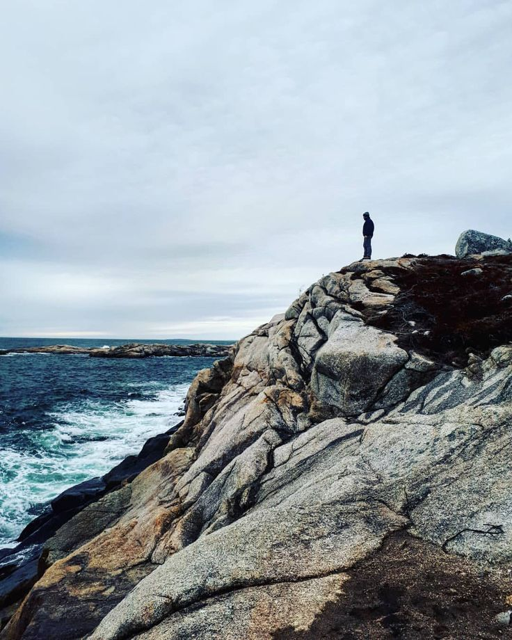 30 Likes, 1 Comments - emma. (@elforsyth) on Instagram Polly Cove Rock