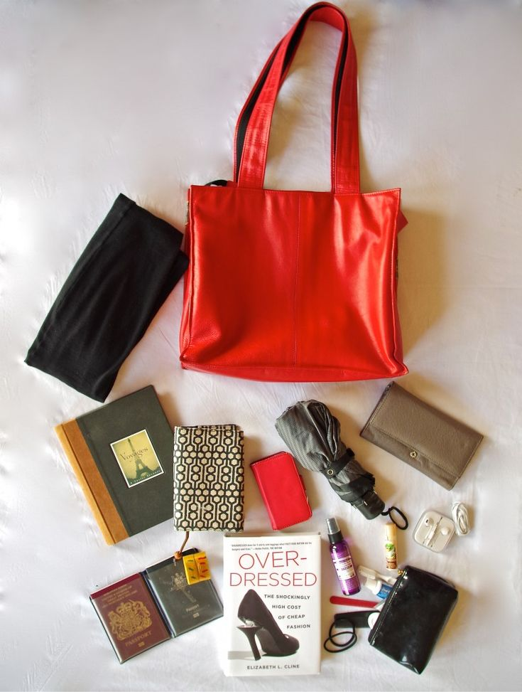 What to pack in your carry-on bag (from www.onefairday.com)