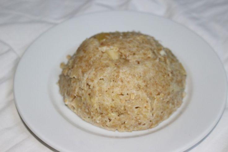 Bowlcake aux pommes coeur coulant à la compote