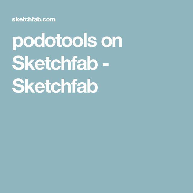 podotools on Sketchfab - Sketchfab
