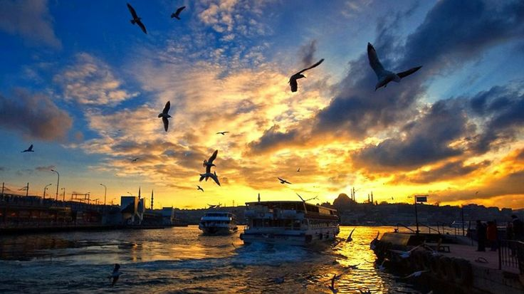 Istanbul,bosphorus , Turkey...Istanbul is one of the largest city in the world and also Istanbul is mixed city and it's population nearly 17 million and one of the best historical,cultural,educational city in the world !