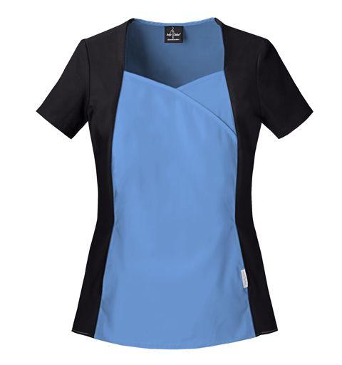 Baby Phat 26843 women's scrub top - scrubadoo.com - scrubs & uniforms
