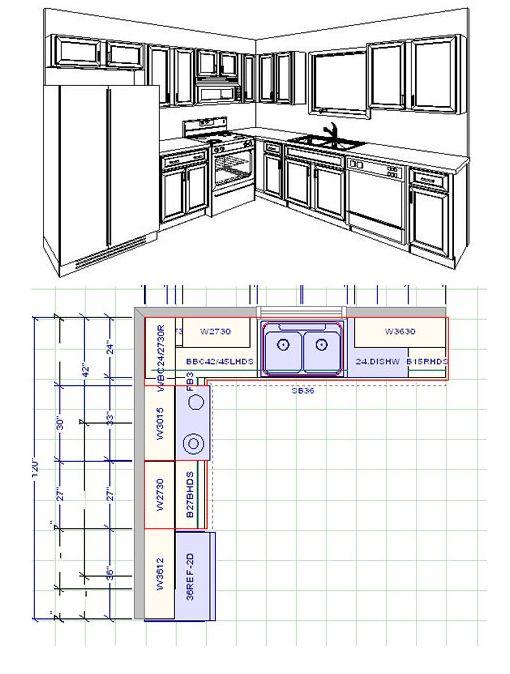 10 X 12 Kitchen Layout 10x10 kitchen layout ideas - destroybmx