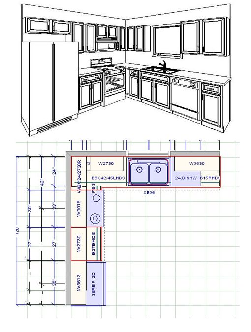 17 best images about small kitchen ideas on pinterest for 10 by 10 kitchen layout