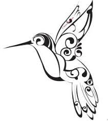 Image result for hummingbird large line drawing