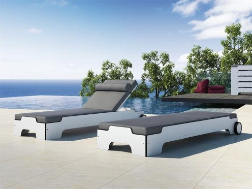 Die 25+ Besten Ideen Zu Sonnenliege Alu Auf Pinterest ... Design Gartenliegen Relaxen Freien