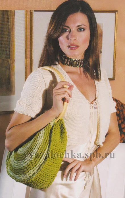 Вязаное болеро, сумка и кошелек. Обсуждение на LiveInternet - Российский Сервис Онлайн-Дневников