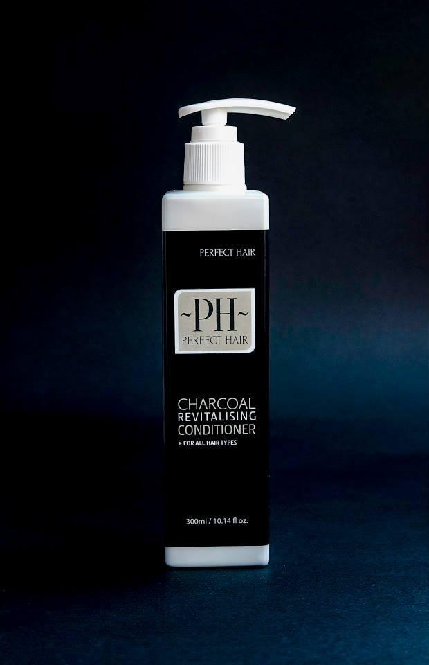 Charcoal haircare range
