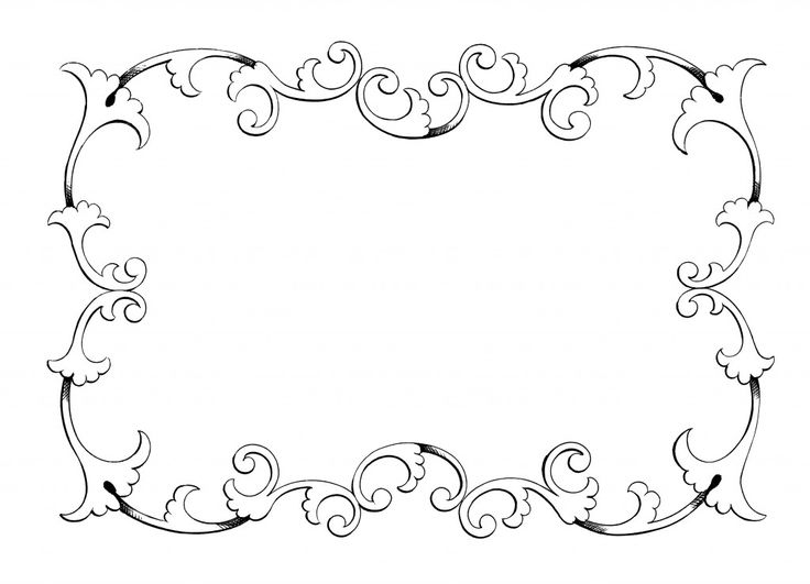 Borders Oh So Nifty Vintage Graphics Clip Art Frames Borders Clip Art Borders Frame Clipart