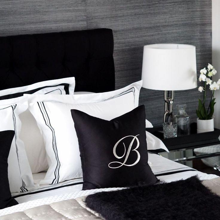 Balmuir decorative cushion cover, 40x40cm, black