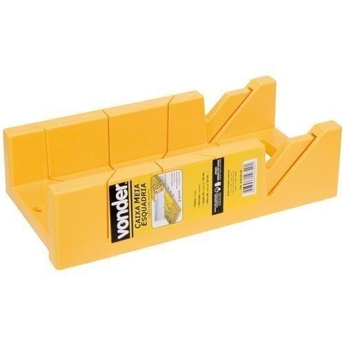caixa meia esquadria corta em ângulos  - vonder