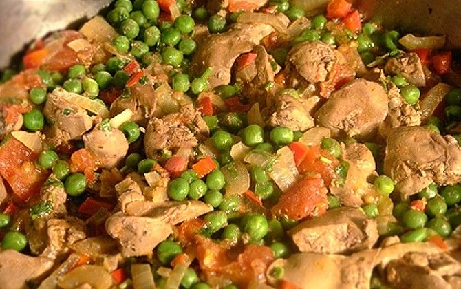 Top 9 csirkemájas étel 300 kcal alatt
