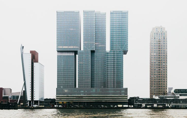 Rotterdam Rem Koolhaas Buildings  #architecture #Koolhaas #OMA #Rem Pinned by www.modlar.com