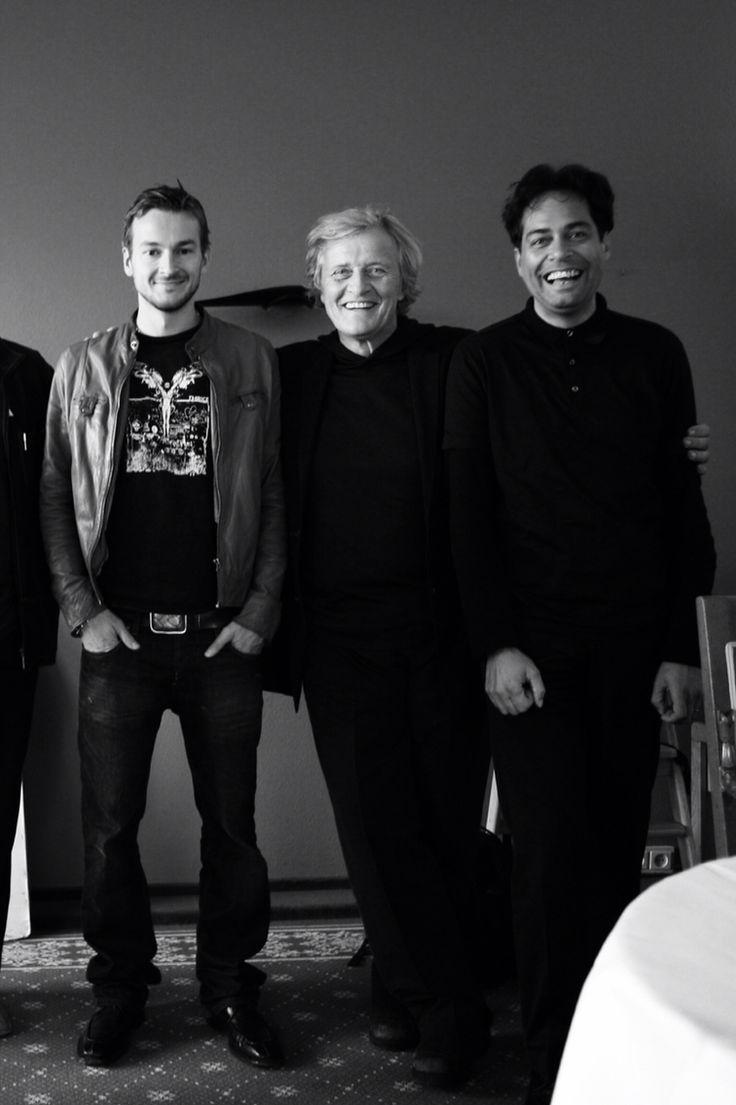 Floris van Bommel, Rutger Hauer en Huub van Osch Photography: Anton Corbijn #antoncorbijn #huubvanosch #vosch #thebrandguide