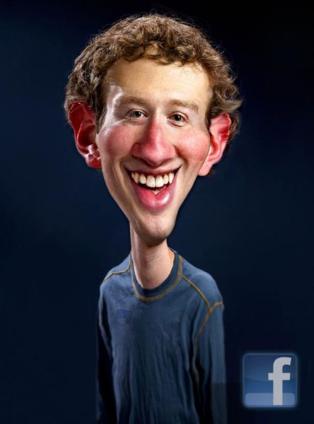 Mark Zuckerburg.  Programador y empresario estadounidense conocido por ser el creador de Facebook.