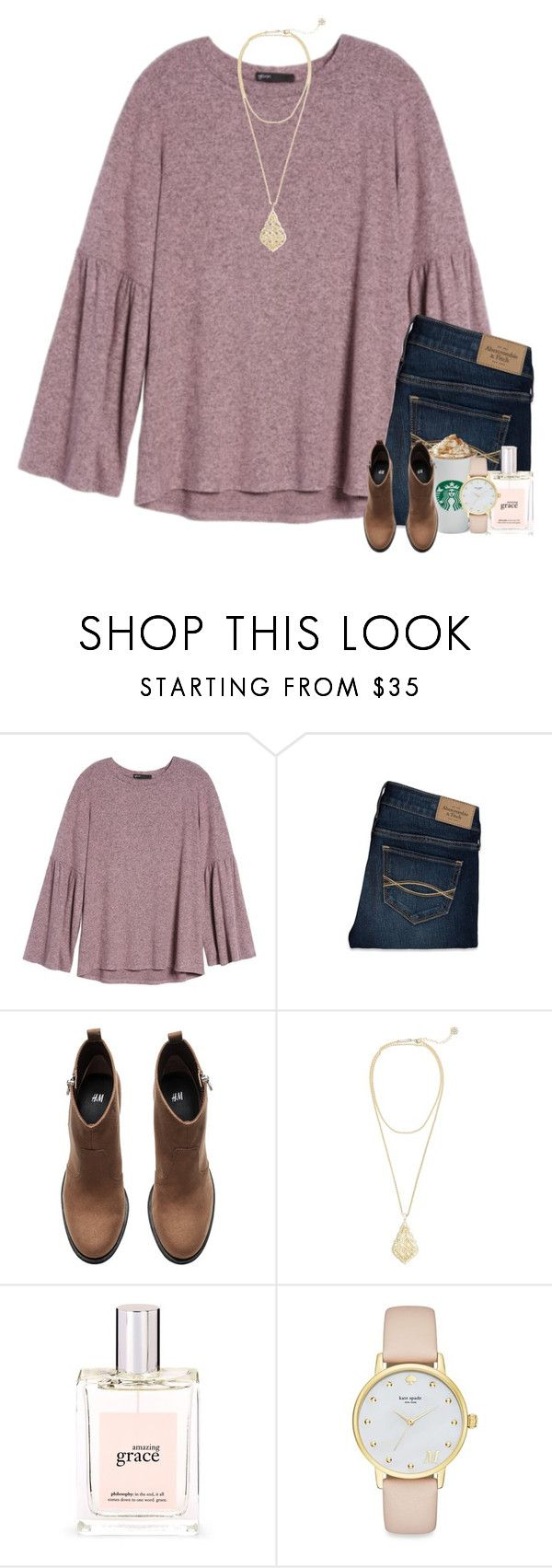 """""""woman are considered fragile..."""" by worthyofgrace ❤ liked on Polyvore featuring Gibson, Abercrombie & Fitch, H&M, Kendra Scott, philosophy and Kate Spade"""