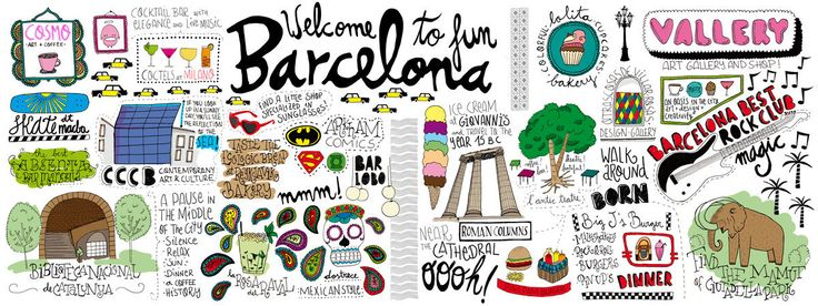 TDAT Getaway Guide: Barcelona, Spain - Blog – They Draw & Travel