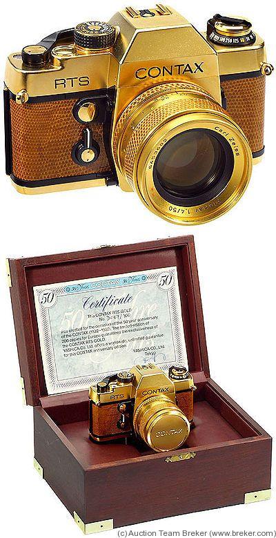 Yashica: Contax RTS Gold camera