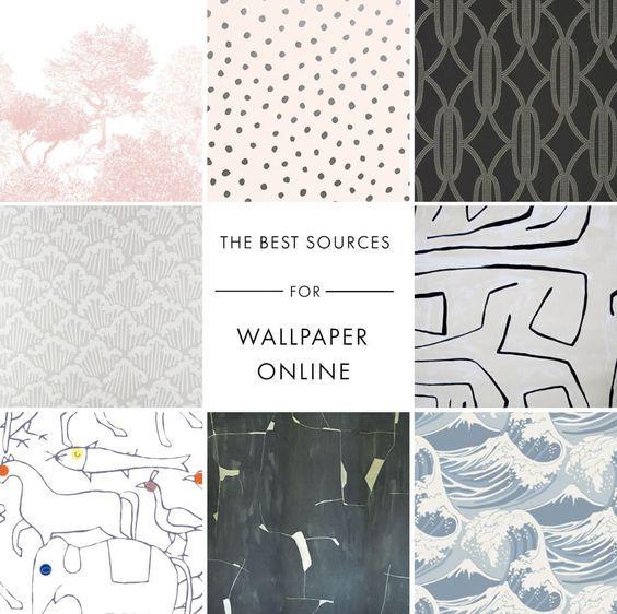 Emily Henderson's BEST Online Wallpaper Sources